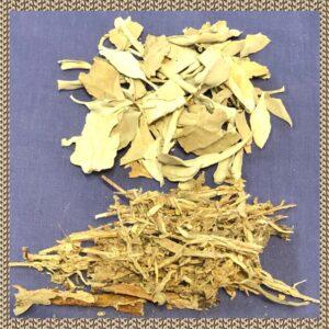 Sage natural leaf